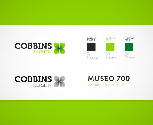 Cobbins Plant Nursery Rebrand