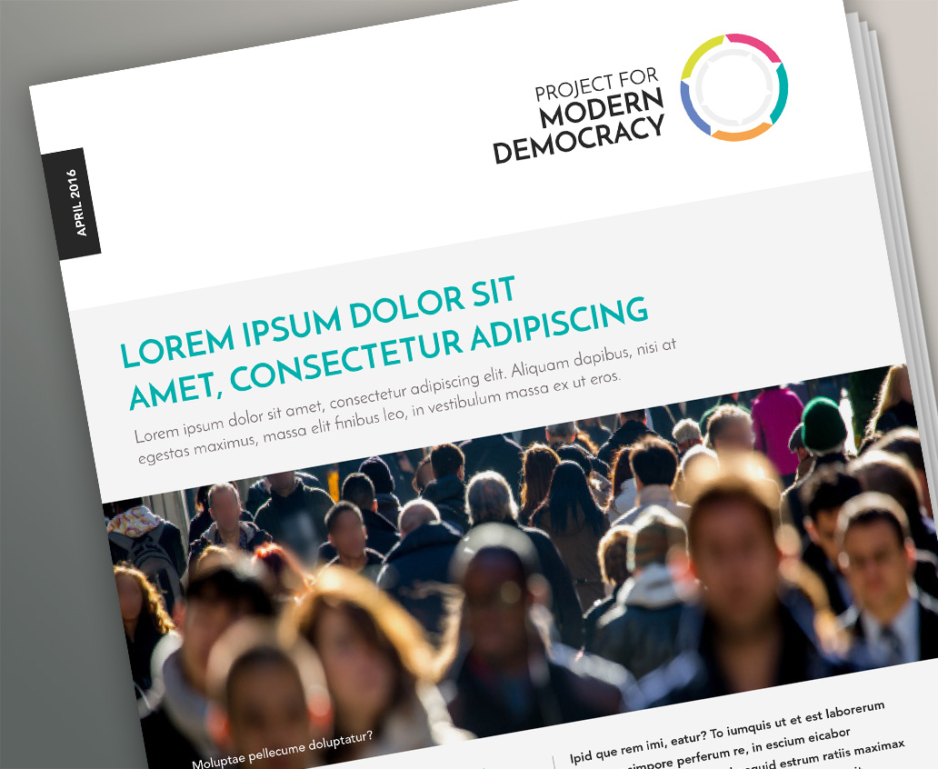 Project for Modern Democracy Report