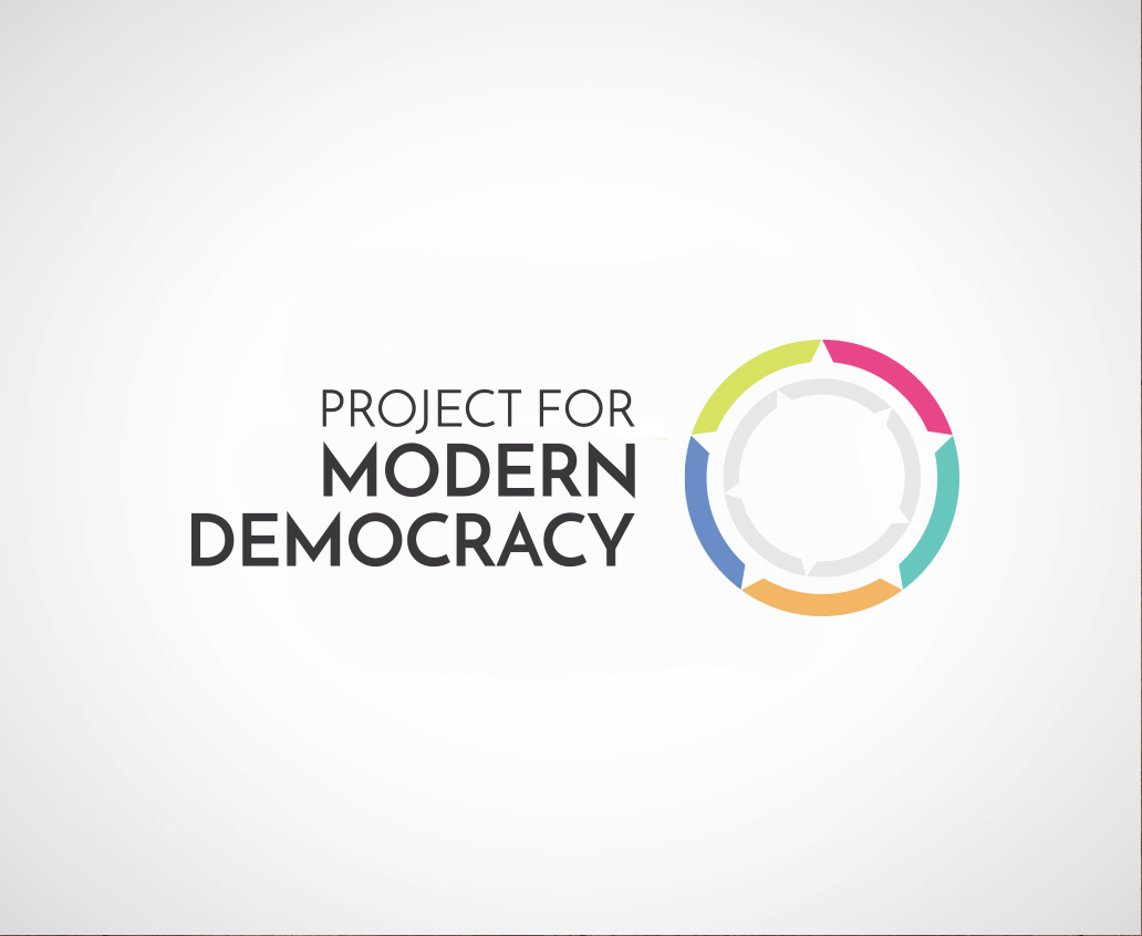 Project for Modern Democracy Branding